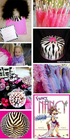 Fancy Nancy....Kynzlee's 2nd birthday theme! Already have the outfit! Oh my...she just turned 1!