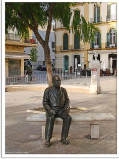 Malaga/España-Skulptur Pablo Picasso in the Plaza de la Merded, where he played in his chilhood whith pigeons. Acrylic Painting Lessons, Watercolor Paintings Abstract, Watercolor Artists, Landscape Paintings, Abstract Oil, Painting Art, Pablo Picasso, Malaga, Picasso Paintings