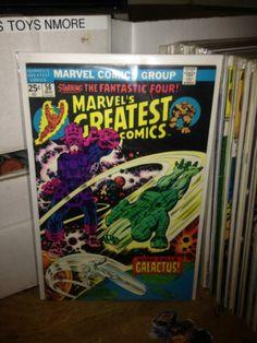 MARVEL'S GREATEST COMICS #56 GALACTUS, SILVER SURFER, MARVEL COMICS