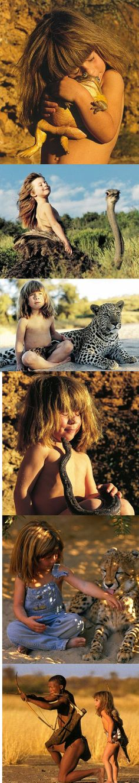 Tippi Degre, daughter of a wild life photographer. My favorite children's book. TIPPI...