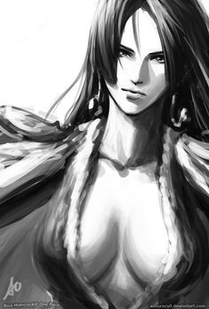 Boa Hancock by *Accuracy0 on deviantART