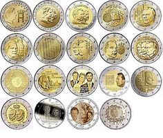 Luxembourg 2 euro Commemorate coins from 2004 - UNC luxemburg letzebuerg Piece Euro, Euro Coins, Coin Worth, One Coin, World Coins, Money Matters, Coin Collecting, Archaeology, Collections