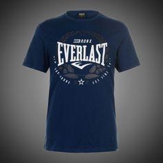 Pánské tričko Everlast Bronx Lauren dark blue s krátkým rukávem. Potisk  přes hrudník s motivem značky Everlast. Stylové pánské tričko Everlast 9d3fe27a33
