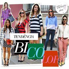 Compre moda com conteúdo, www.oqvestir.com.br #Fashion #Colors #Stripes