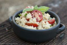 Clean Eating Garlic Parmesan Quinoa