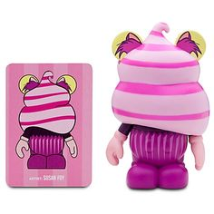 Vinylmation Bakery Series 3'' Figure -- Cheshire Cat Cupcake This is one of my favorite collectibles.