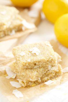 Lemon Meringue Pie Energy Bars | GI 365