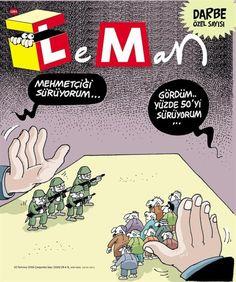 """FANY - BLOG (2016-07-22) Turquie :  Il giornale satirico turco LeMan è stato chiuso dalla polizia di Erdogan. Turkish satire magazine """"LEMAN"""" today closed by Erdogan's police.  Gli amici Turchi mi hanno invitato a diffondere la notizia che il giornale satirico """"LEMAN"""" oggi è stato chiuso dalla polizia di Erdogan, diffondete per favore !!!!  Questa è la copertina del numero speciale sul golpe sarebbe dovuto uscire nelle edicole Ma nella notte il giornale è stato chiuso così pure il sito web…"""