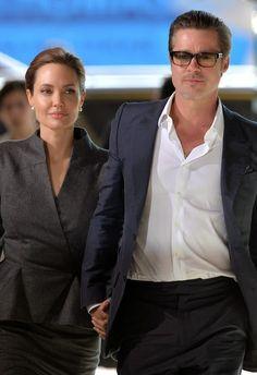 Third eye: Angelina Jolie & Brad Pitt Wed In France