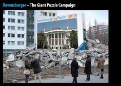 Ravensburger Puzzle | #public #demolition #puzzle #print #wrecking #creative #guerillamarketing #guerilla #btl #ambientmedia found on www.klonblog.com pinned by www.GuerillaMarketing-Agentur.de a division of www.BlickeDeeler.de