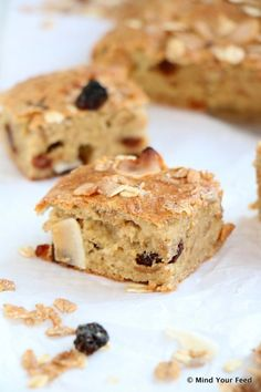 Havermout yoghurt cake met muesli - Mind Your Feed
