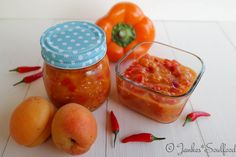 Paprika-Aprikosen-Chutney mit Chili