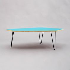 Coffee table with hairpin legs from Velvet-Point by DaWanda.com