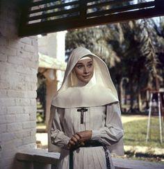 "Audrey Hepburn, ""The Nun's Story"""