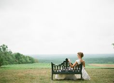 Bride | Fall 2012 Weddings Unveiled | Elisa B Photography | Ashley Baber Weddings | Blenheim Vineyards | Chaviano Couture