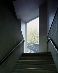 Nottingham Contemporary by Caruso St John Architects - Dezeen Arch Architecture, Contemporary Architecture, Contemporary Art, Helene Binet, Nottingham Contemporary, Dezeen, Stairs, Inspiration, Image
