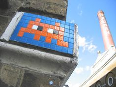 Yeah. Space Invader tiles.