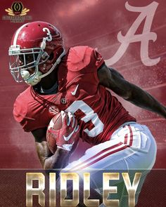 Calvin Ridley breaks Armari Cooper's Freshman receiving record for Bama in the Cotton Bowl - 2015