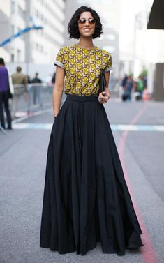 Gorgeous-Long-Skirt-Outfits-For-Working-Women skirt lange röcke, mode, mode Maxi Skirt Outfits, Dress Skirt, Maxi Skirt Work, Skirt Pleated, Maxi Skirt Outfit Summer, Midi Skirt, Modest Fashion, Fashion Outfits, Party Fashion