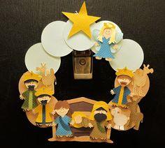 the Nativity set on the Paper Doll Dress Up Cricut cartridge love it....