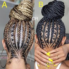 11 Triangle Braids Hairstyles You Need to See - Crochet Hair Styles Braided Ponytail Hairstyles, Braided Hairstyles For Black Women, African Braids Hairstyles, Protective Hairstyles, Braided Updo, Protective Styles, Cornrows Updo, Kid Hairstyles, Braid Hair