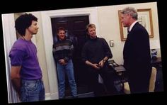 President Clinton David Bowie