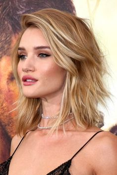 rosie huntington-whiteley long bob - Pesquisa Google