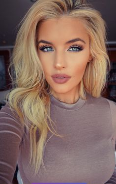 Jean Watts: When you worry about what other people think of you, you give up the power to enjoy you. Your opinion of yourself is your key to happiness. Flawless Makeup, Gorgeous Makeup, Skin Makeup, Beauty Makeup, Hair Beauty, Blonde Makeup, Blonde Eyebrows, Contour Makeup, Blonde Beauty
