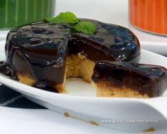 Creme Brûlée Souflê de Chocolate