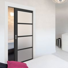All pocket cassettes may be kerbside delivery only and not in to the home. doors are delivered separately. All doors can slide open left or right, you decide when installing them, delivery will be from two separate suppliers. Pocket Door Frame, Pocket Doors, The Doors, Panel Doors, Steel Frame Doors, Door Fittings, Extension Designs, Flush Doors, The Face