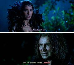 """I'm afraid it can be... mother"" - Rumple and the Black Fairy #OnceUponATime ((I didn't see THAT coming))"