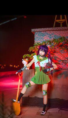 Char: #Kurumi Anime: #Gakkou_Gurashi