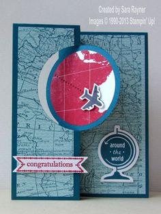 Around the World bon voyage | Sara's crafting and stamping studio