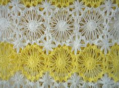 Short Sleeve Handmade Crochet Floral Women Lace by TinaCrochet2016