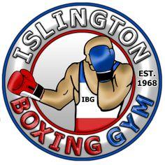 Logo designed for Islington Boxing Gym