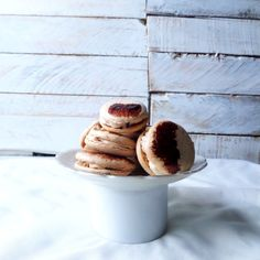 Coffee Macarons with Maple Bacon Cream