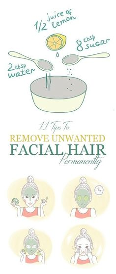 11 Tips To Remove Unwanted Facial Hair Permanently – stylevast