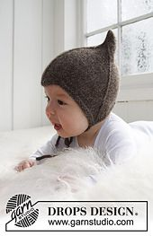 "Ravelry: b21-34 ""Alladin"" hat in ""Alpaca"" pattern by DROPS design"