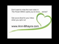 The Power Within wants you to know.you are joy manifest Next Video, Want You, Knowing You, Ann, Love, Amor, I Want You