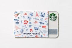 Starbucks x GQ Japan 2015 September Maison Kitsune Paris Gift Card Starbucks Rewards, Starbucks Gift Card, Starbucks Crafts, Paris Gifts, Vip Card, Visa Gift Card, Gift Cards, Coffee Cards, Paris Photos