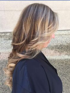 I love Balyage and seamless tape extensions ! The bomb  Www.hairbyzaklina.com