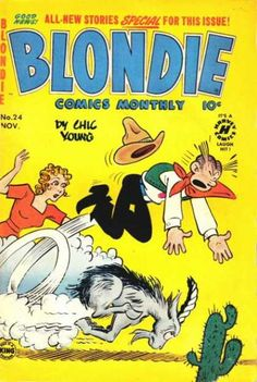 Blondie Comics Monthly