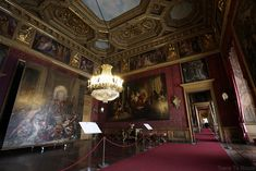 Palazzo Reale Turin - intérieur salle du Palais Royal