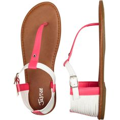 Glitter T-strap Sandals sandals flip flops ($20) ❤ liked on Polyvore