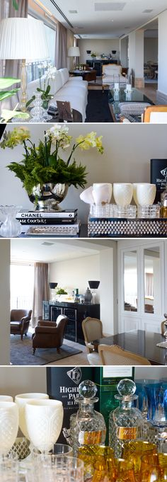 TOUCH this image to discover its story. Bandeja Bar, Kelly Hoppen Interiors, Classic Living Room, Interior Decorating, Interior Design, Model Homes, Apartment Design, Decoration, Home Projects