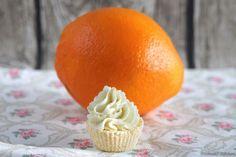 {DIY} Orangen-Bade-Cupcakes - toller Orangen-Duft, Wellness & sanfte Pflege für die Haut - die hübschen Hingucker einfach selber machen & verschenken