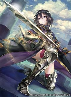 Fire Emblem Awakening - Morgan