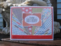 My Creations with Michelle: August SOTM Blog Hop - Framed