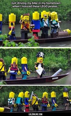 Real Life LEGO Pirates#funny #lol #lolzonline