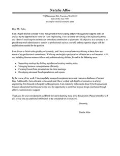 Receptionist Cover Letter Example  Executive  Resume Builder